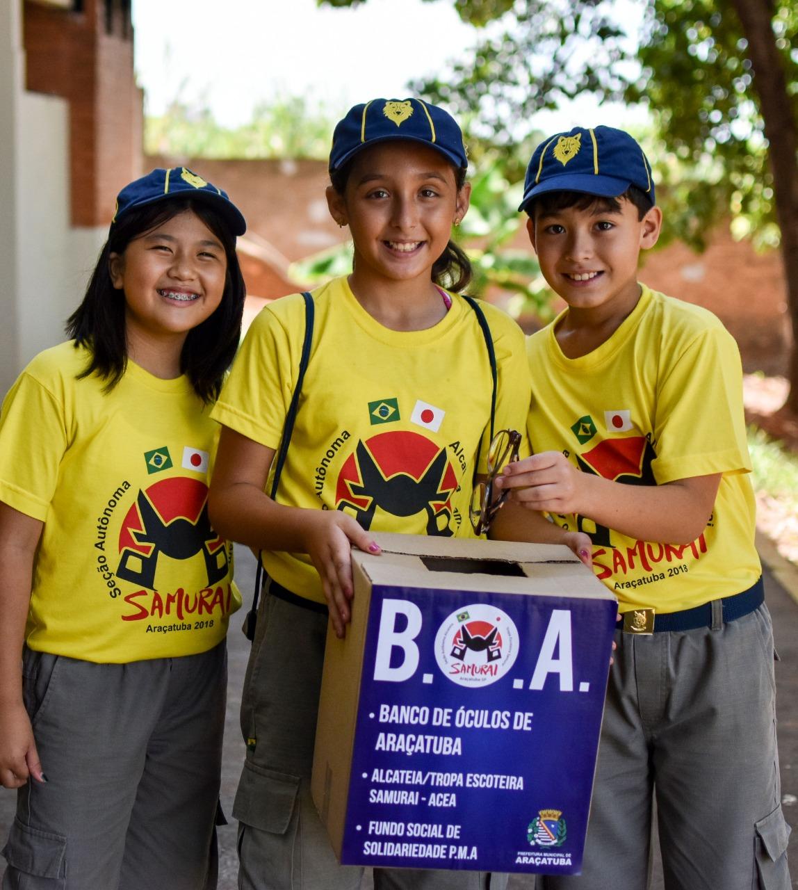 d795ef9c4 Campanha para arrecadar armação de óculos tem parceria com Fundo Social |  Prefeitura Municipal de Araçatuba